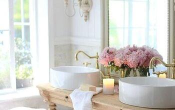 Creating a Custom Vanity in the Bathroom