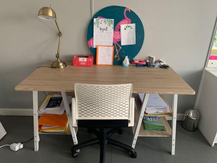 magnetic desk organizer pinboard set