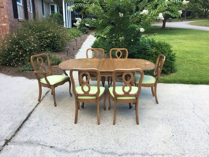 giving a french provincial dining set some ooh la la