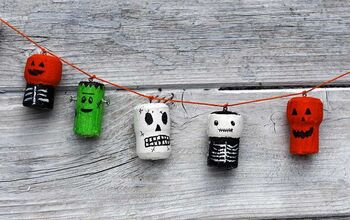 Fun Spooky Repurposed Wine Corks For Halloween