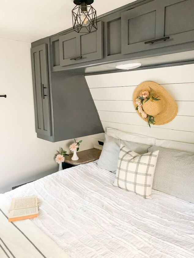camper master bedroom remodel