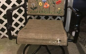 A Garden for My Patio ... Chair