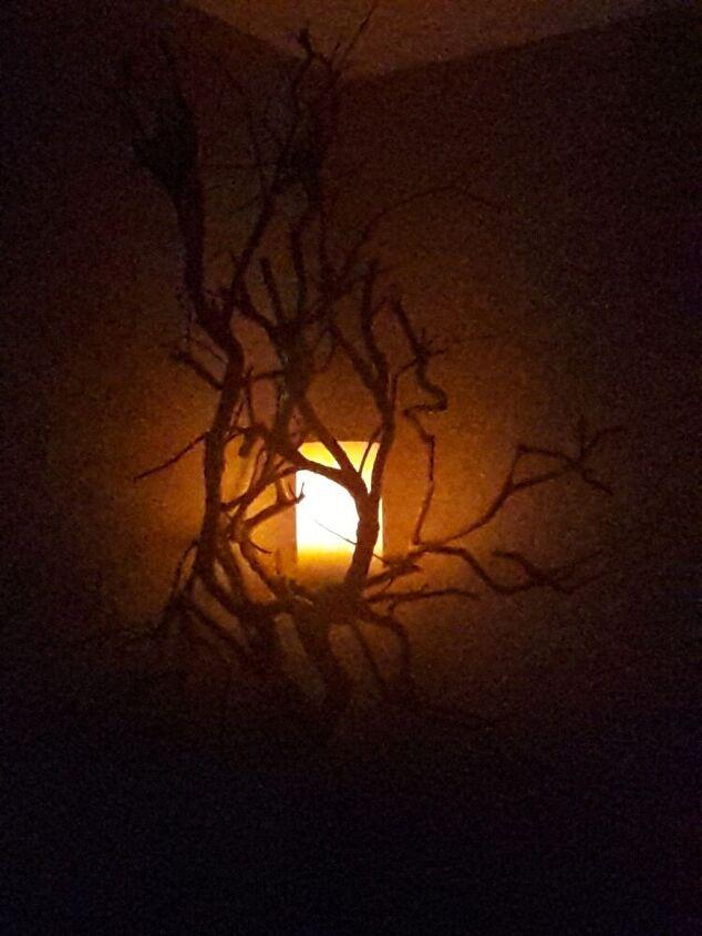 spooky halloween light
