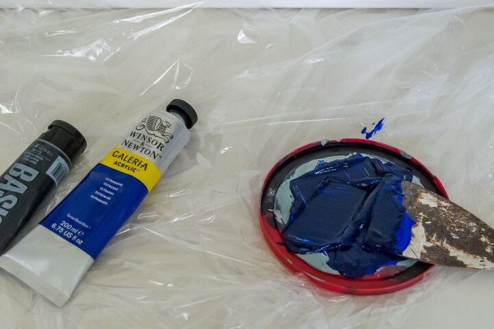 make an abstract painting easy diy art