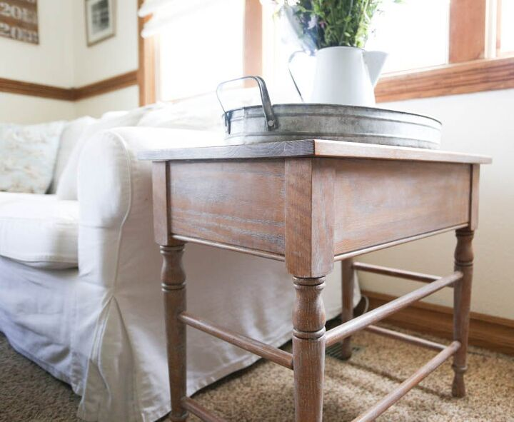 limed oak table the easiest makeover