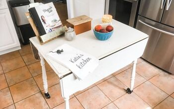 DIY Thrifted Kitchen Island