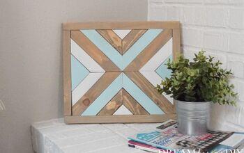 Simple DIY Wood Art Using Scrap Wood