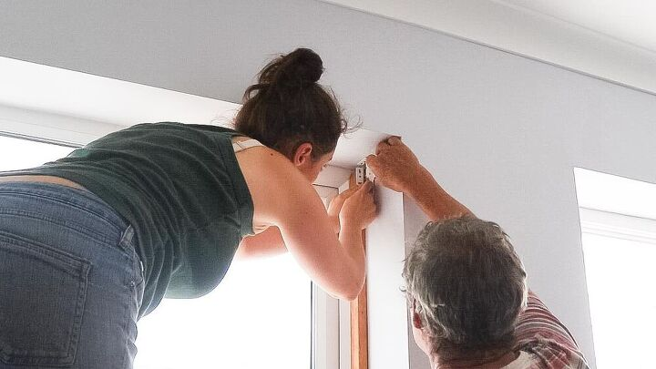 installing double roller blinds