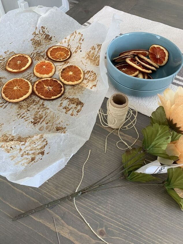 fall citrus garland