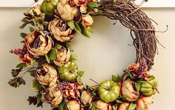 Fall Inspired Grapevine Wreath