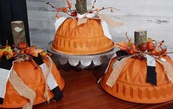 Jello Mold Pumpkins!