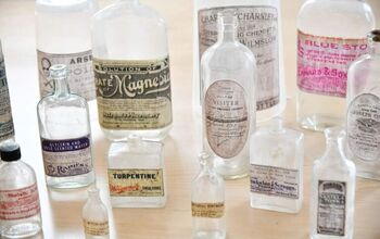 DIY Vintage Apothecary Bottles