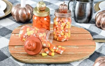 DIY Dollar Tree Candy Jars