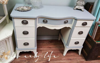 Elegant Desk Makeover