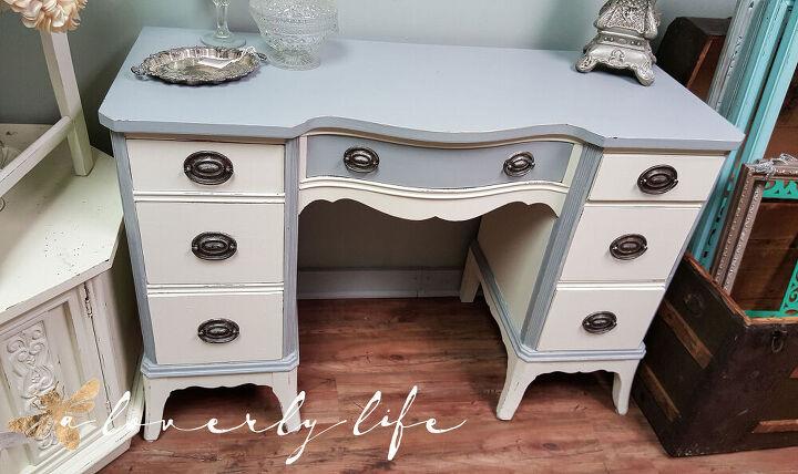 elegant desk makeover