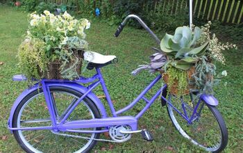 Vintage Bicycle Upcyle