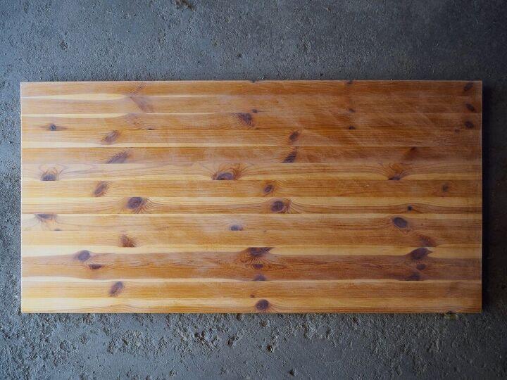dowel coffee table