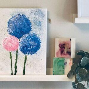 DIY Floral Painting