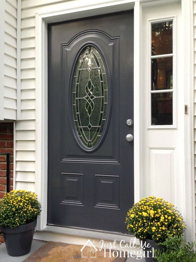 cut a hole in your front door for a new look