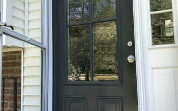 Cut a Hole in Your Front Door for A New Look!