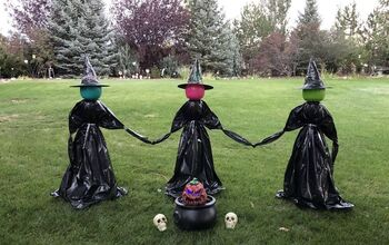 How To Make Yard Witches