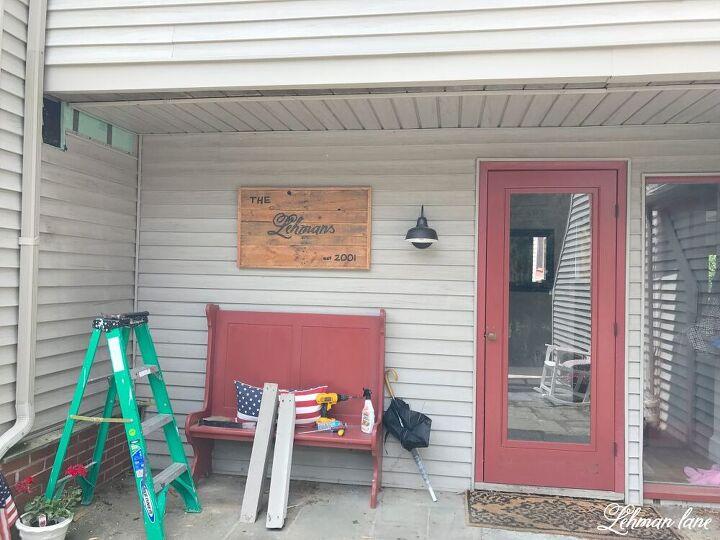 diy front porch pergola