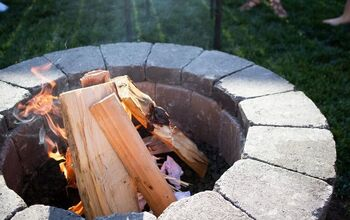 DIY Fire Pit in 2-4 Hours! Bring in the Fall With a Cozy Firepit
