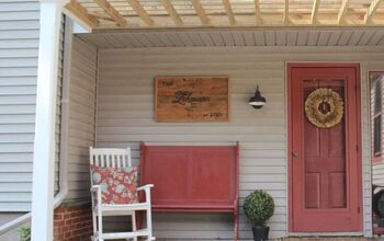 DIY Front Porch Pergola
