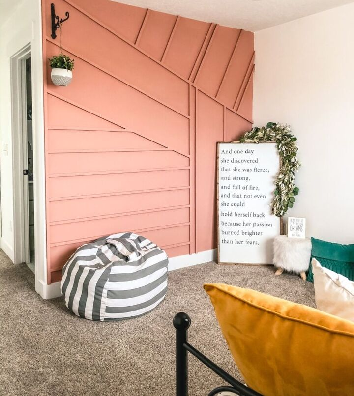 how to make a cost effective accent wall
