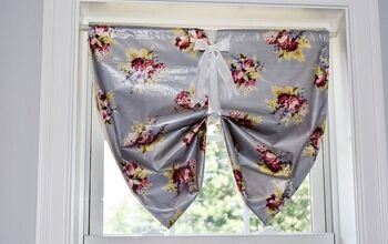 DIY Button Up Window Shades