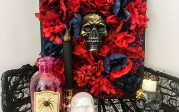DIY Dollar Store Halloween Art