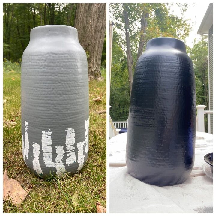 dirt vase makeover