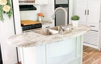 RV Makeover: Kitchen & Living Room