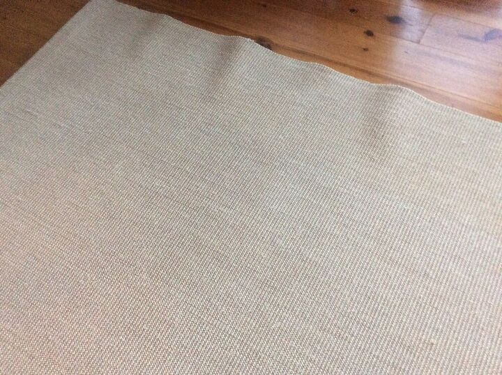 q how do i save my new sisal rug