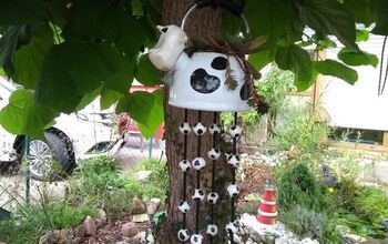 Hanging a Plant Moo Style