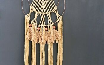 Trendy Macrame Dream Catcher