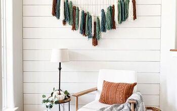 Easy DIY Yarn Wall Art