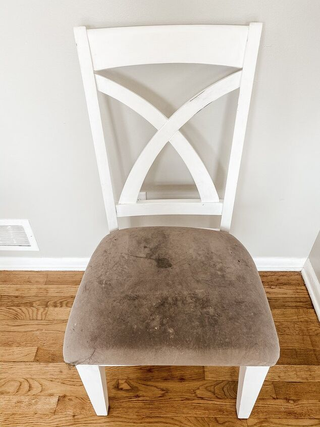 how to re cover chair cushions