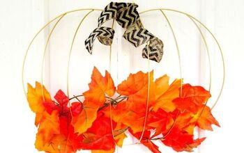 Dollar Tree Fall Wreath DIY