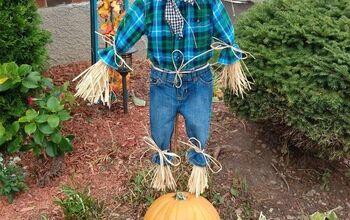 DIY Scarecrows