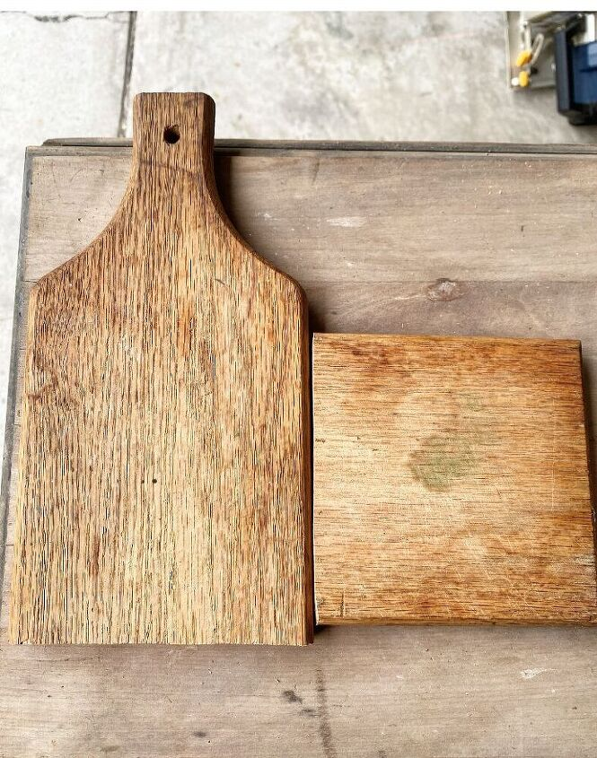 how to make a wood spoon rack