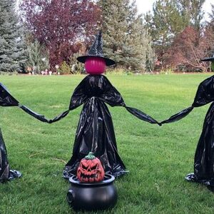 Spooky Yard Witches