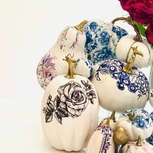 China Pattern Pumpkins
