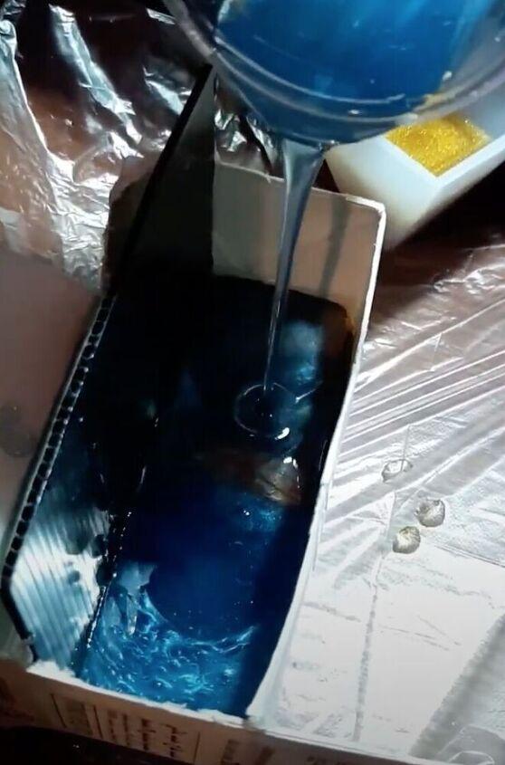 epoxy photo card stand