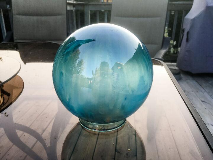 diy halloween crystal ball decor