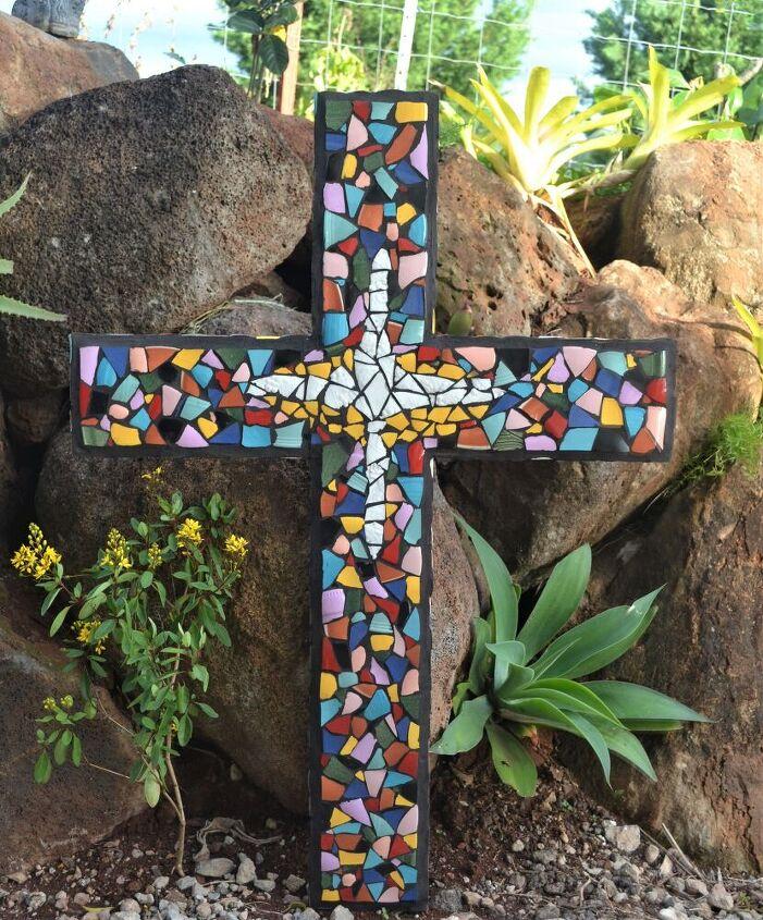 3d mosaic cross, Mosaic Cross