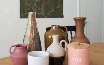 Painted Ceramic Vases