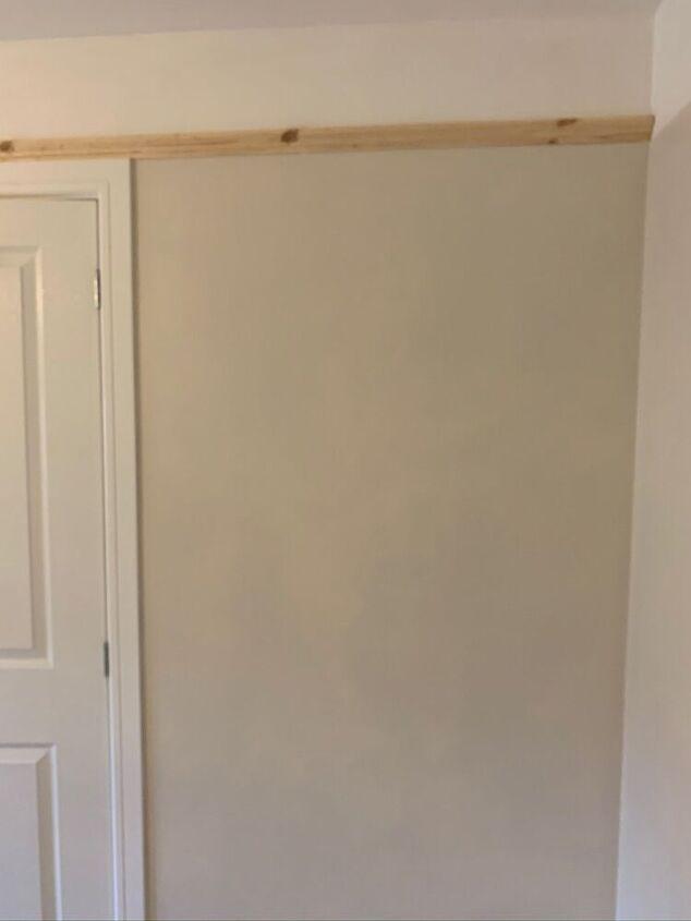 room makeover using dado rail
