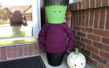 Flower Pot Frankenstein