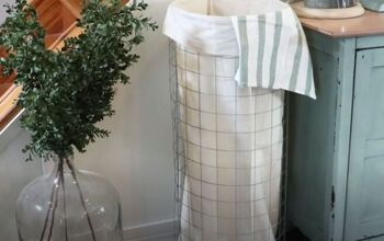 How to Make an Amazing Vintage Style Laundry Hamper